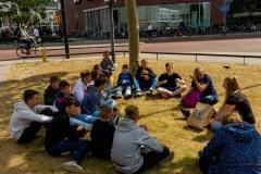 #WLSMBRG19 auf Stadtbummel in Enschede.