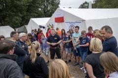 Besuch aus dem Landkreis Verden bei der Jugendfeuerwehr Rutki aus Polen.
